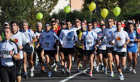 De Garda Trentino halve marathon - Riva del Garda