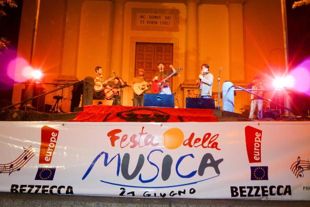 Festa della Musica aan het Ledromeer - Bezzecca Lago di Ledro