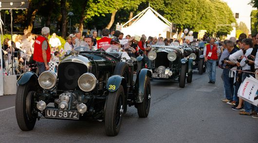 Oldtimer race Mille Miglia