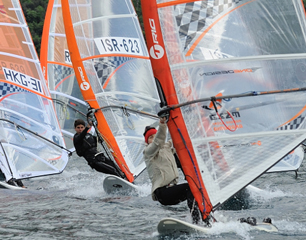 One Hour Classic - Windsurf-Regatta - Nago-Torbole