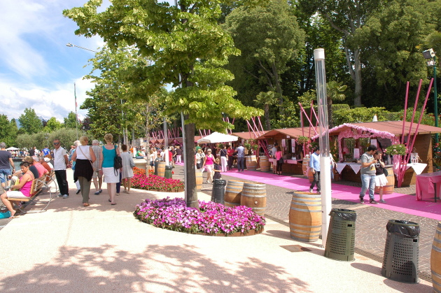Palio del Chiaretto - Großes Weinfest in Bardolino